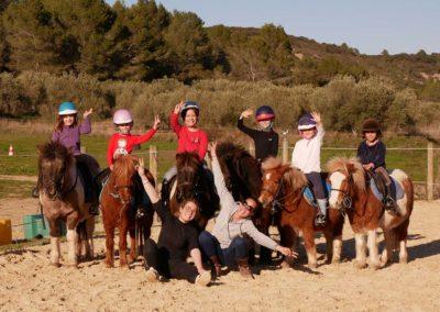 Journée galops poneys, Domaine équestre de Maruejols
