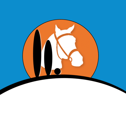 Logo carré, Domaine équestre de Maruejols