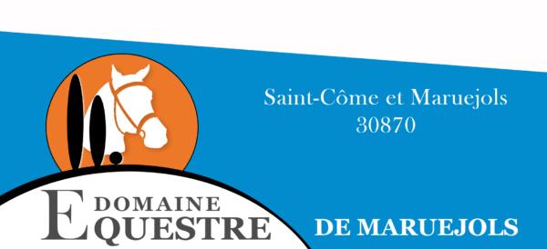 Logo long, Domaine équestre de Maruejols