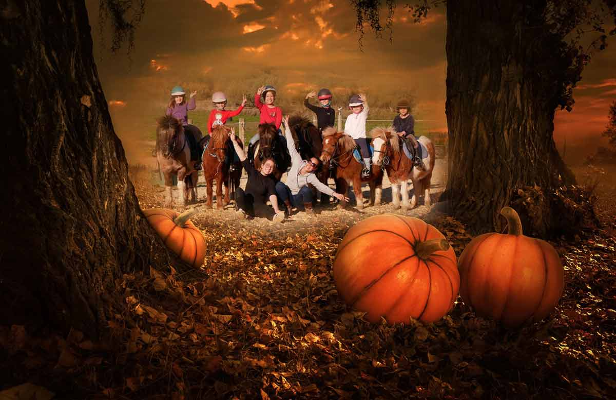 journée halloween poneys, Domaine équestre de Maruejols